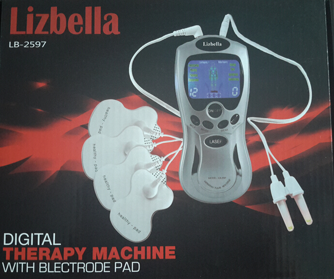 high quality tens/acupuncture digital therapy machine tens massager(China (Mainland))