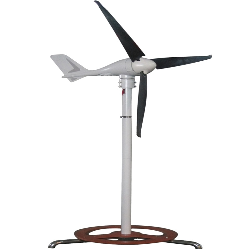 Marine type vertical axis wind generator with wind-solar hybrid controller(China (Mainland))