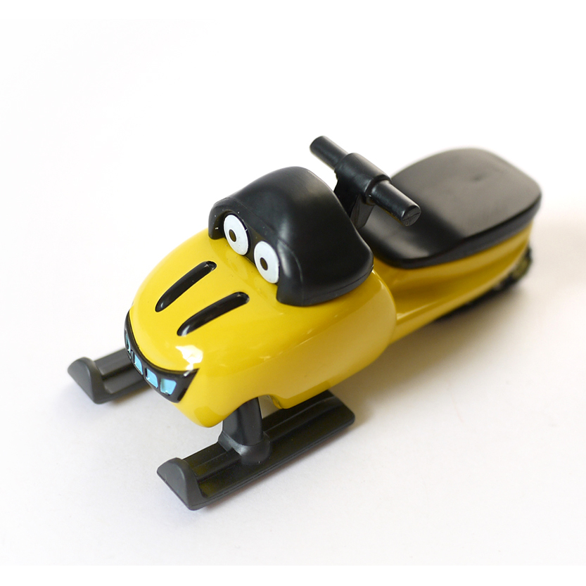 D919 Free shipping Hot selling Children's toys Bob the builder engineer alloy toy car truck model ( yellow Sled)(China (Mainland))