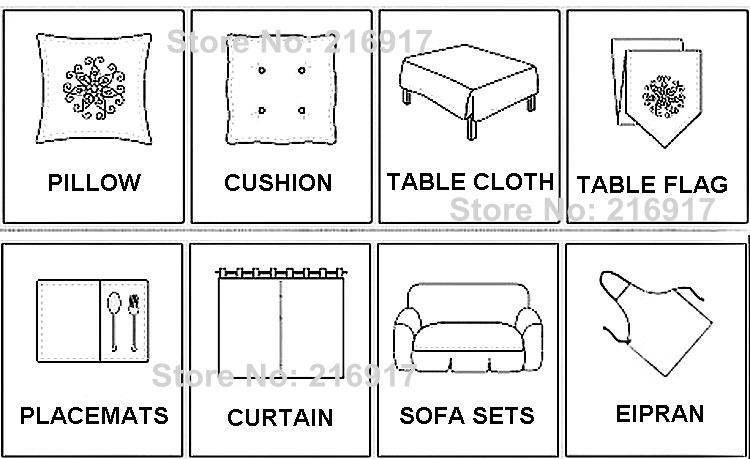 схема для вышивки ткани