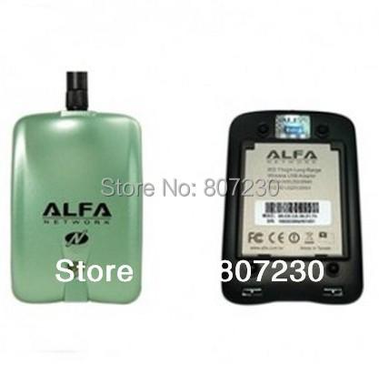 Free Shipping!! Alfa AWUS036NH 2000mw 802.11n WIRELESS-N USB Wi-Fi adapter 2 watt Adaptor Adaptador adaptateur(China (Mainland))