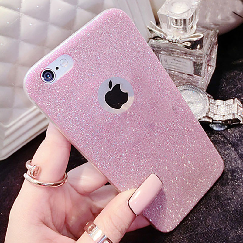 Diamond flash Glitter ultra-thin TPU case Soft silicone New listing Coque iPhone 5 5S SE 6 6S 7 Plus Samsung Galaxy