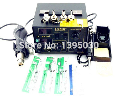 Hot Air Rework Station 852D Free Shipping By DHL 1PC Hot Air Gun 700W 220V Or