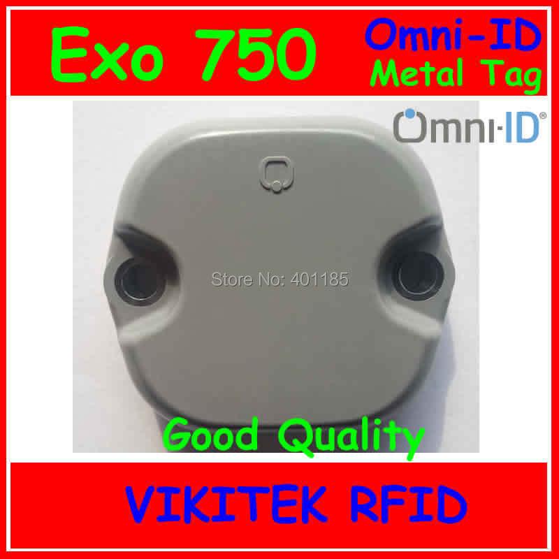 Omni-ID Exo 750 UHF RFID metal tag 860-960MHZ 915M EPC C1G2 ISO18000-6C Exo750 Logistics and Postal Manufacturing tote tracking(China (Mainland))