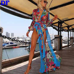 Womens Summer Maxi Dresses 2015 Summer Style Vestidos Chiffon Maxi Dress Beach Wear China Super Seller Plus Size Party Dresses A