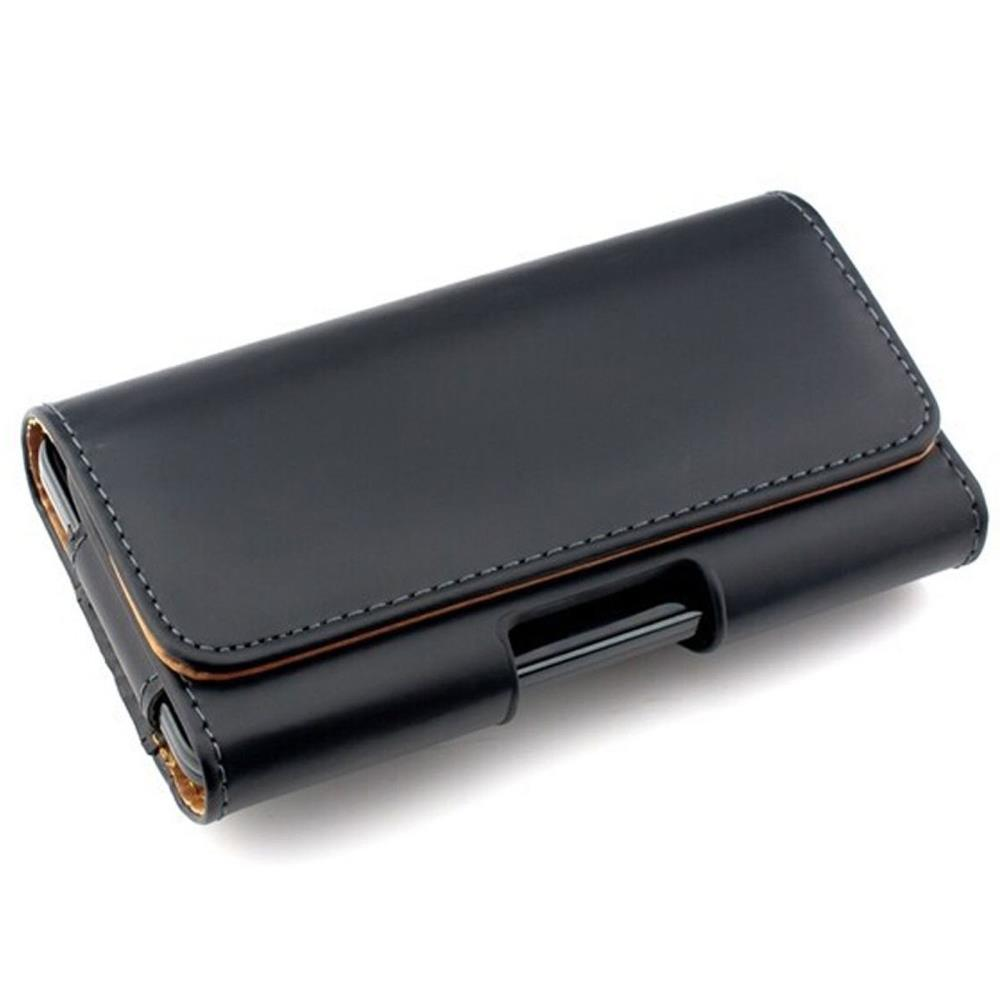 Pu leather pouch with belt clip loop case holster for for Housse samsung galaxy s5