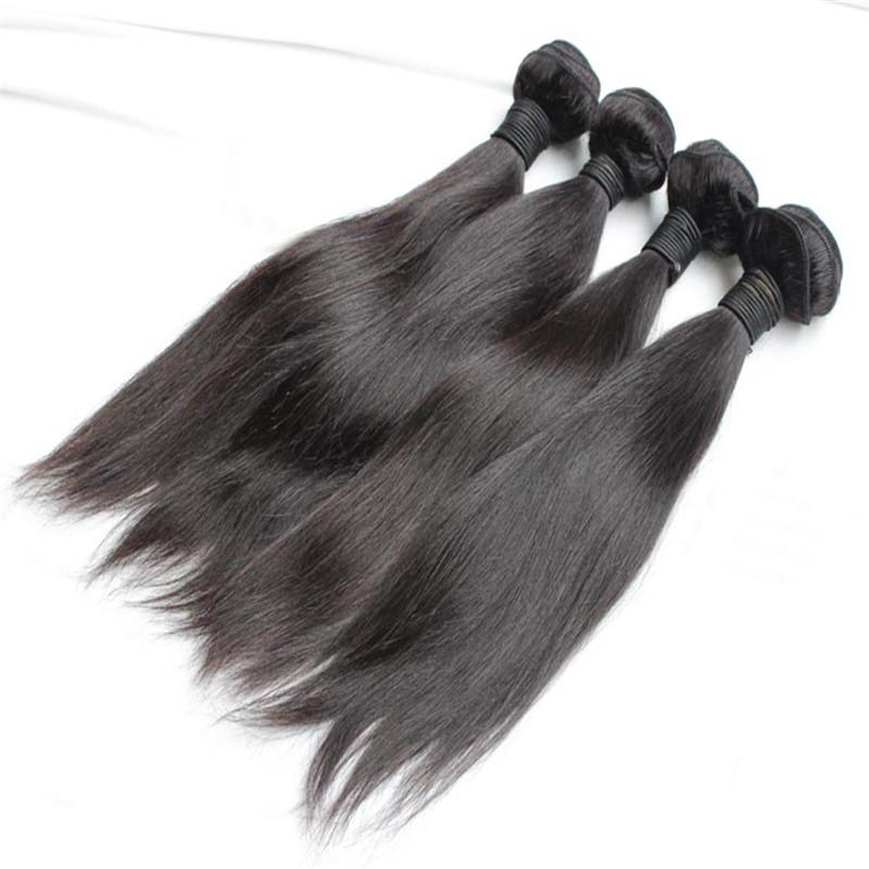 Здесь можно купить  Promotion Nadula Virgin Hair Straight 4pcs Cheap 10A Unprocessed Virgin Brazilian Hair Bundles Human Hair Weave  Волосы и аксессуары