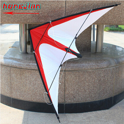 Free Shipping Outdoor Fun Sports NEW Dual Line Stunt Kites /Red Arrows Kite with Handle And Line Good Flying(China (Mainland))