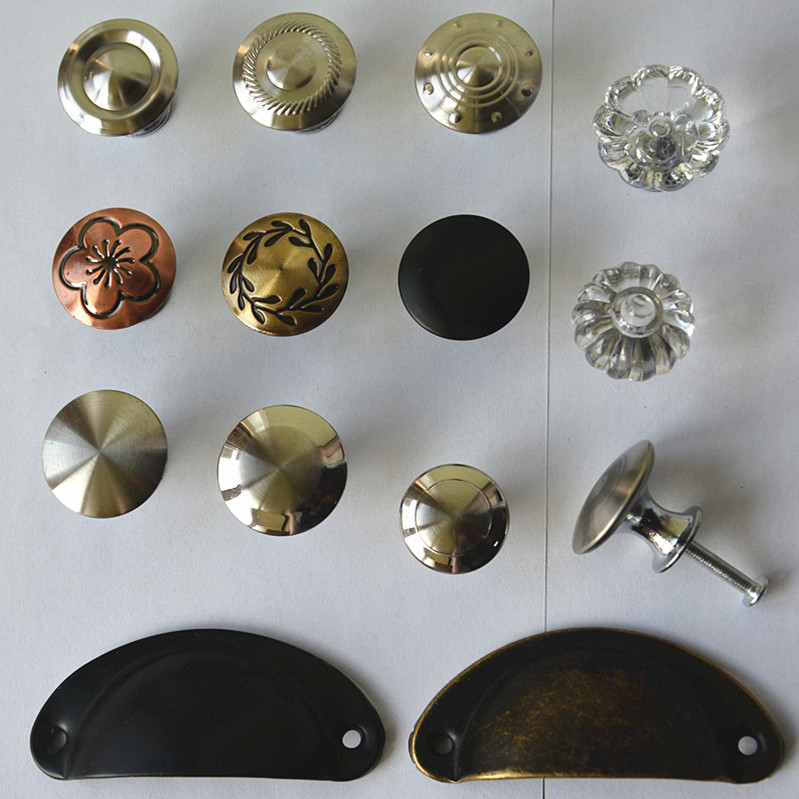 variety style color Stainless steel Door Drawer Cabinet Wardrobe Pull Handle Knobs furniture Hardware handle Wholesale(China (Mainland))