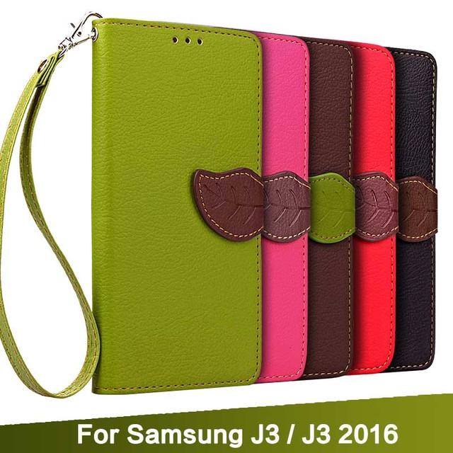 Etui Samsung J3 Leaf Wallet różne kolory