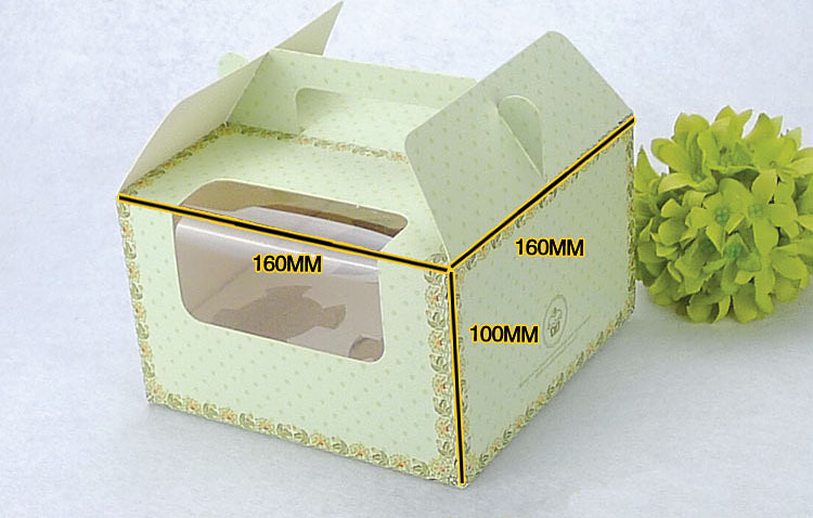 Cup Holder Cup Cake Box 4 Holder