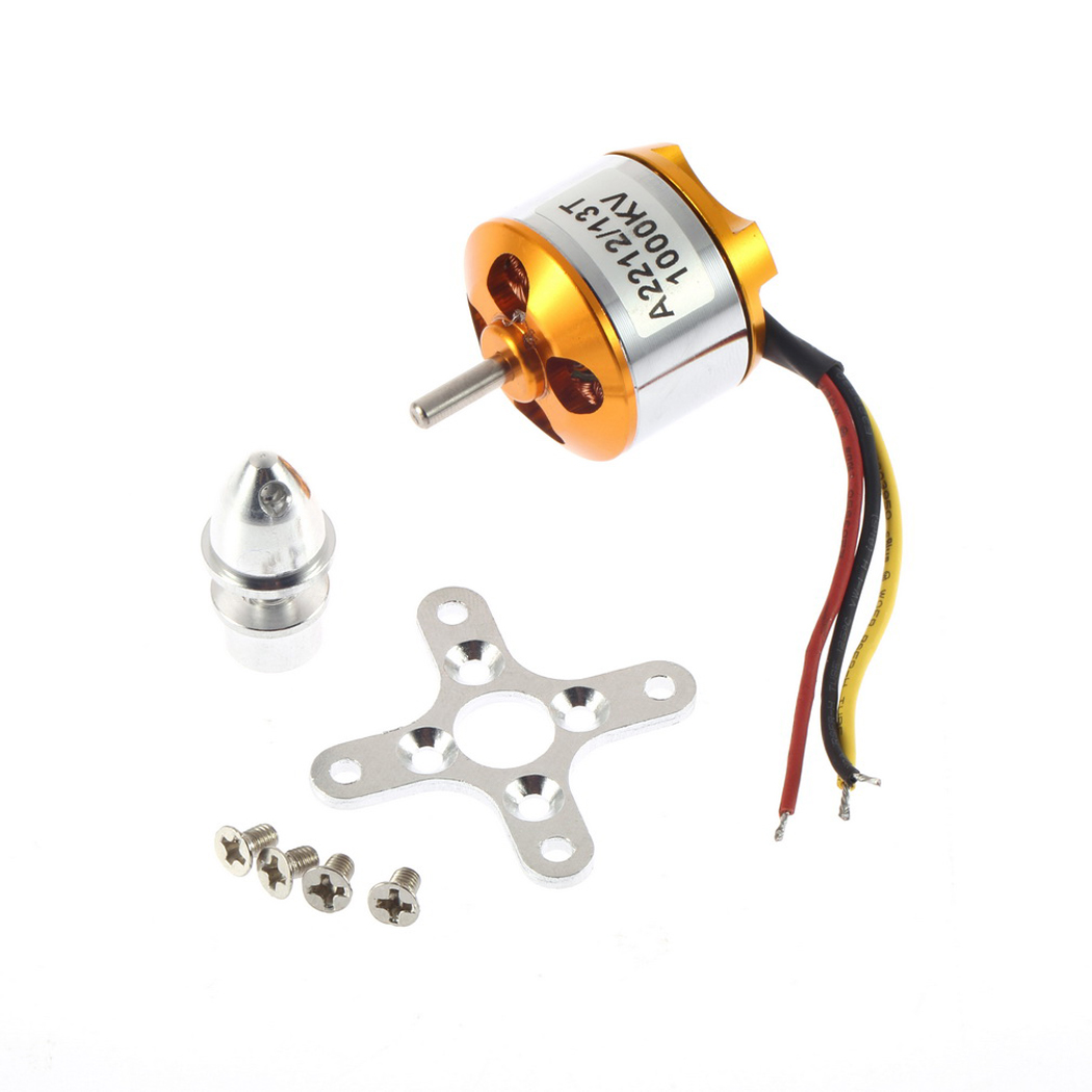 A2212 1000KV Brushless Outrunner Motor For RC Airplane Aircraft Quadcopter 66