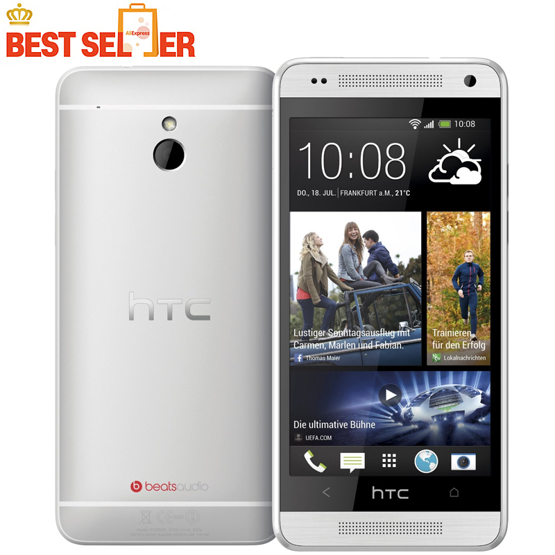 M4 Original HTC ONE MINI 610e Unlocked Cell phone 3G 4G 16GB Storage 1GB RAM Wifi GPS Android Smartphone Free Shipping(China (Mainland))