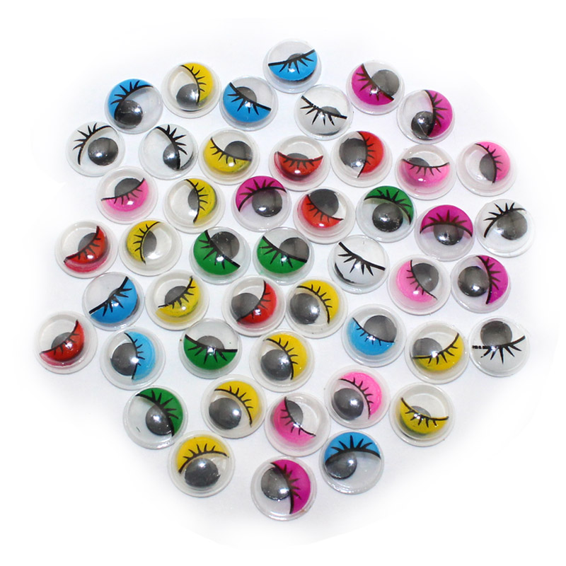 Гаджет  200PCS/lot 7 Multicolor Not Self-adhesive Eyelash Eye Used Toys DIY Supplies None Игрушки и Хобби