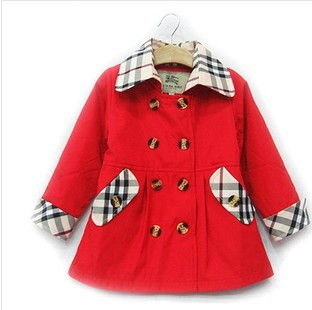 New Brand Children's Outerwear 2014 baby girl autumn jackets Fashion Girl Princess coat kids hoodies Girl's Trench #68202 - C&M Team Kids Store store