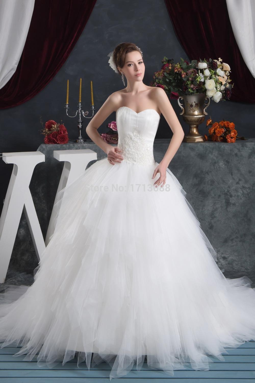 Robes de mariage de conte de fées