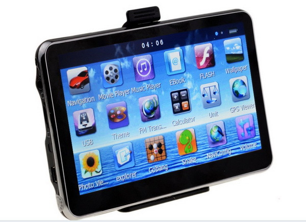 2015 hottest selling 4.3 inch gps navigation with map 4GB flash 800mzh(China (Mainland))