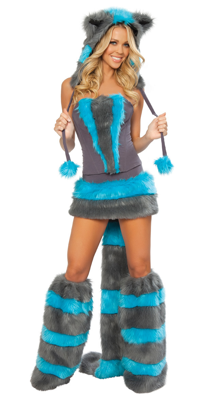 Free shipping cheaper wholesale fur sexy wolf costume, sexy halloween costumes,women's festival dress(China (Mainland))