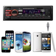 New 12V Car Stereo FM car Radio bluetooth MP3 Audio Player Support Bluetooth Phone USB/SD MMC Port Car RADIO In Dash 1 DIN(China (Mainland))