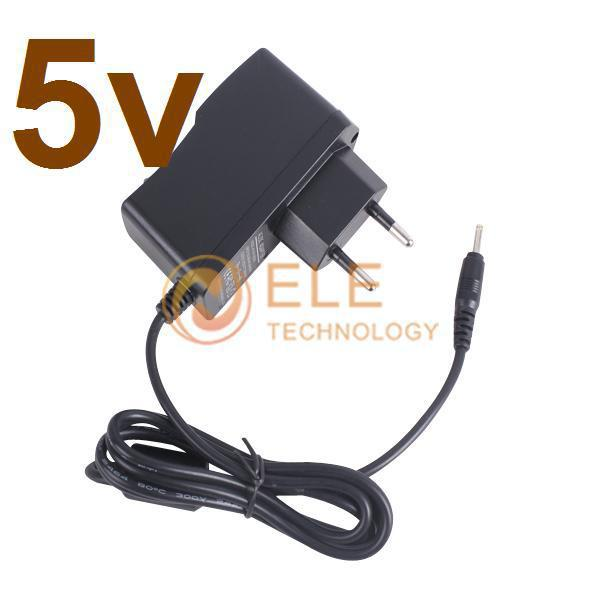 wholesale hot high quality 2A 5v universal wall 2.5mm EU Charger adapter for mid tablet pc mobile phone(China (Mainland))