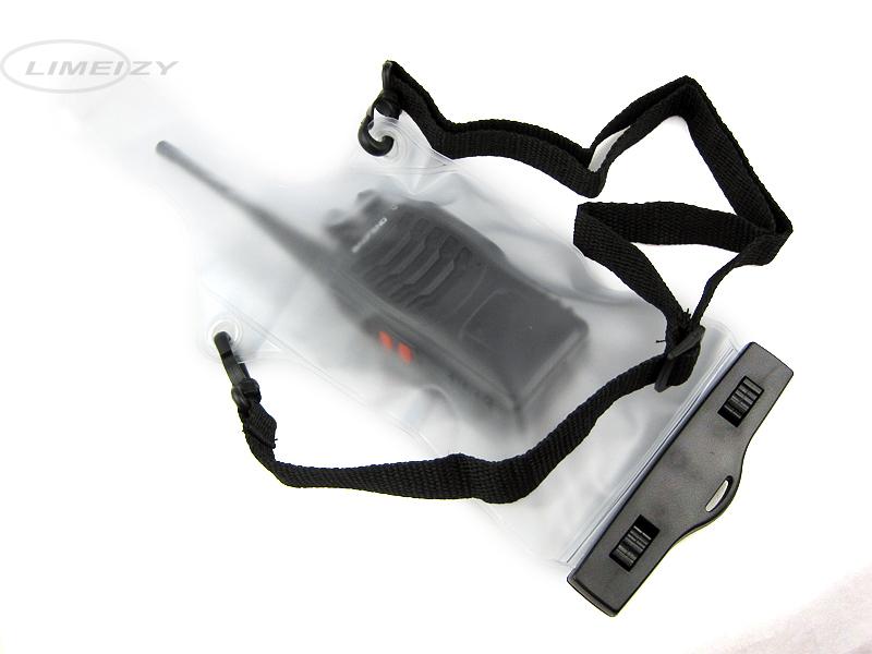 Waterproof Sets Case Bag For Kenwood Motorola Icom Yaesu TYT Wouxun midland Cobra Baofeng HYT Radio Walkie Talkie(China (Mainland))