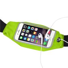 4 Color Gym Outdoor Sports Running Bags Waist Belt Bag Case Cover for iphone6 4.7 Inch smart phone Waterproof fabric Sports Bag
