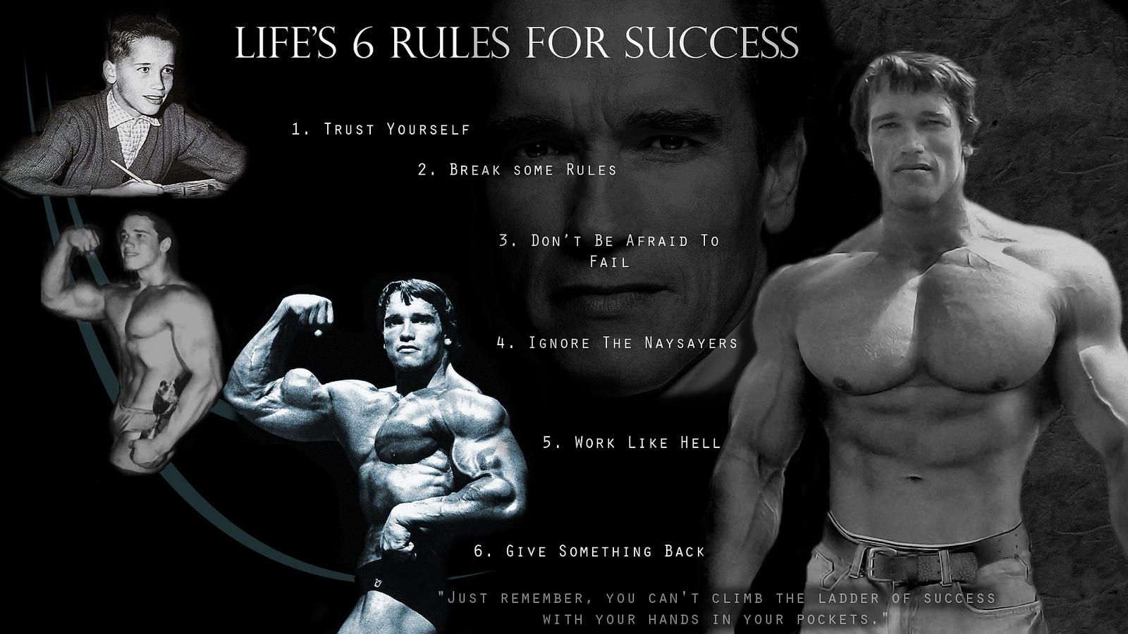 Motivational inspirational quotes Arnold Schwarzenegger bodybuilding Art silk...
