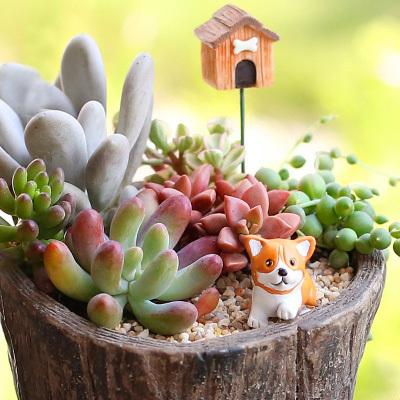 sale~1Pcs Corgi/dog/puppy/fairy garden gnome/moss terrarium decor ...