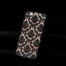 Новые поступления измельчения песчаные телефон чехол задняя крышка для IPhone 5 5S чехол дамаск старинные цветочным узором роскошные жесткий пк чехол