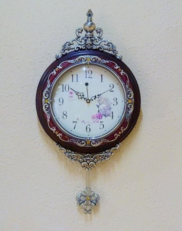 Wall Clock Different Shape Antique Pendulum Wall Clock