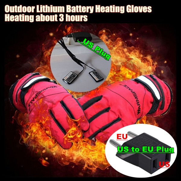 Children's 3.7V/1600MAH Electric Heating Gloves,Outdoor Sport Ski Lithium Battery Self Heated Gloves,Warm 3 hours Boys & Girls(China (Mainland))