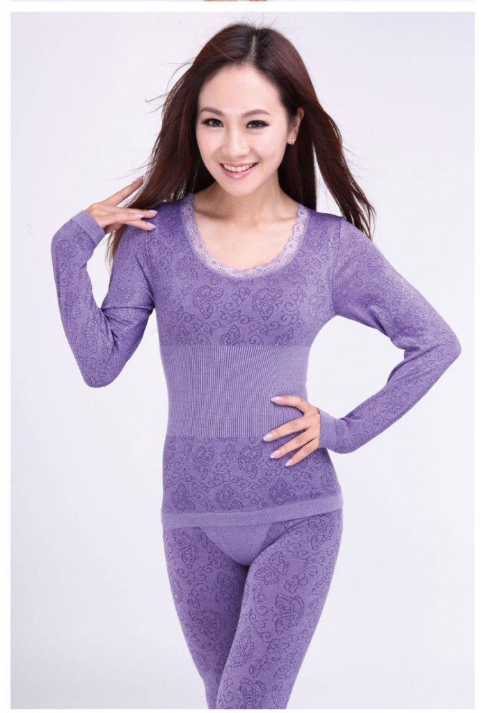 Factory outlets Ms Taobao modal thin section Seamless Underwear Qiuyi suit wholesale