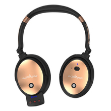active noise cancelling bluetooth headset wireless headphone HIFI stereo super bass 4.0 earphone microphone - ShenZhen New Style Technology Co.,Ltd store
