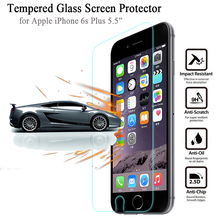 Brand New 2.5D Screen Protector for iPhone 6s Plus 5.5″ Tempered Glass High Quality 9H 0.3mm Protective Film for Apple i6s Plus