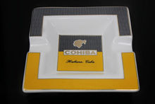 COHIBA NEW Fine Square COHIBA 2 Cigars Ceramics Cigar Ashtray YD-041(China (Mainland))