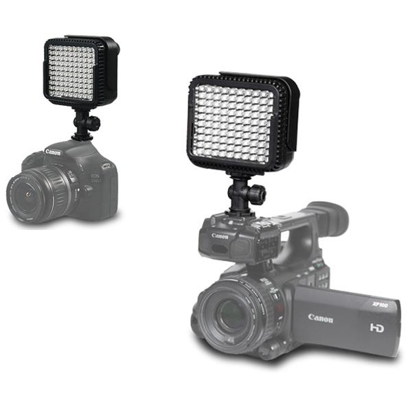 NanGuang CN-Lux1000 On Camera LED Video Light for Camcorder DV Camera (Black)<br><br>Aliexpress
