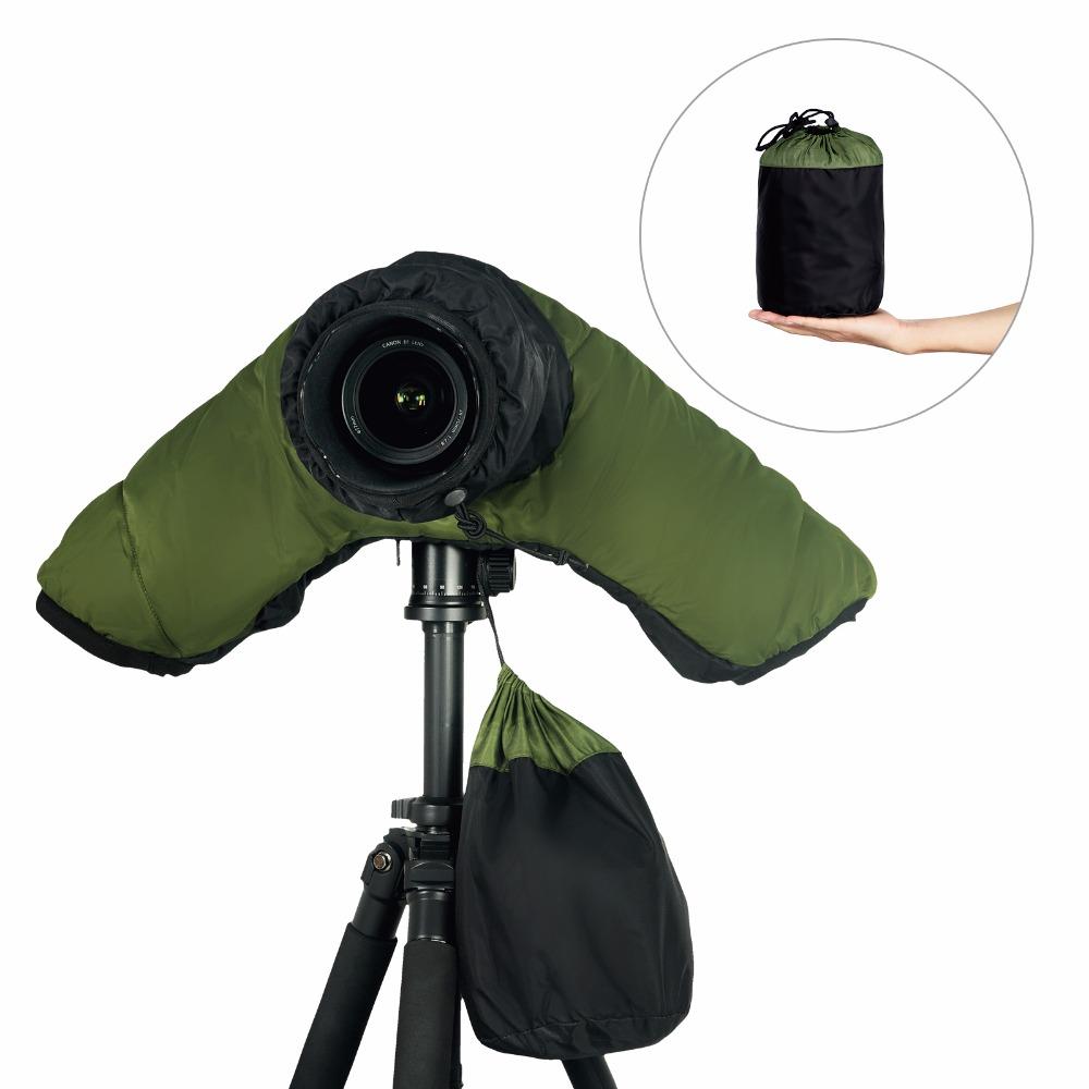 Professional Camera winter Rain Snow Cover Coat Dust Protector case bag Protective full cover waterproof Canon Nikon DSLR