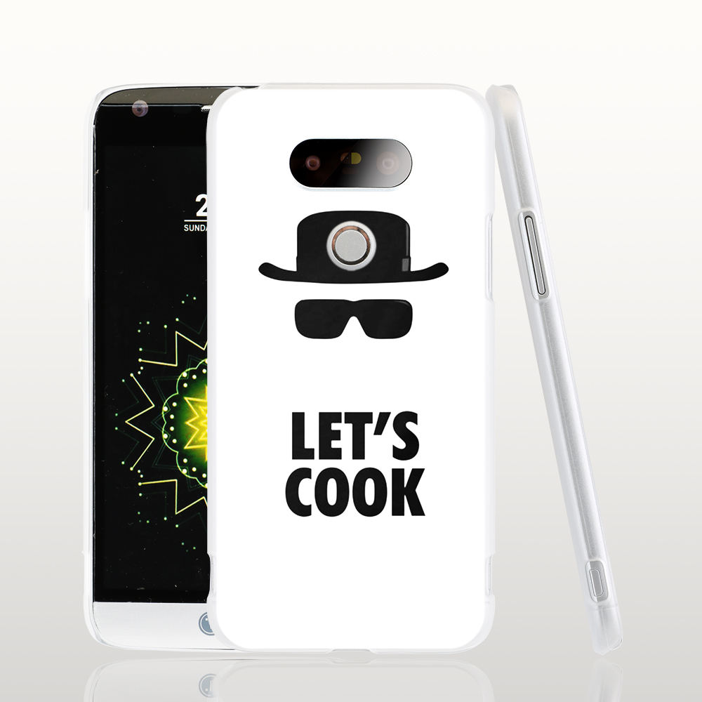 18566 Breaking bad Let's Cook cell phone protective case cover for LG G5 G4 G3 K10 K7 Spirit magna(China (Mainland))