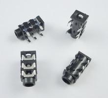 100pcs 3.5mm Stereo Audio Socket Phone Jack Connector 3-Pin PCB Mount