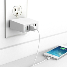 Buy EU UK US Plug Universal Desktop Wall Charger 4 USB Smart Charger Power Strip Adapter Socket iPhone Samsung Phone Tablet for $17.65 in AliExpress store