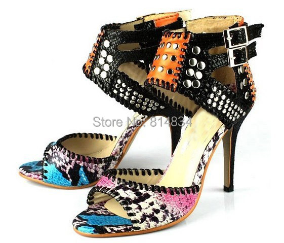 2015 sexy open toe high-heeled sandals high heel sandals fashion ankle strap summer shoes women's