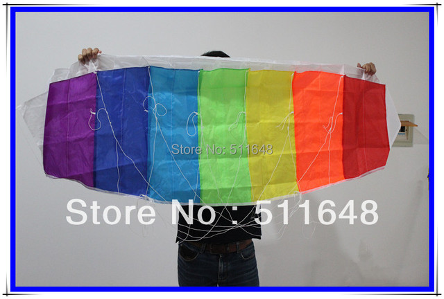 Free shipping 1.4m polyester splice power training kite
