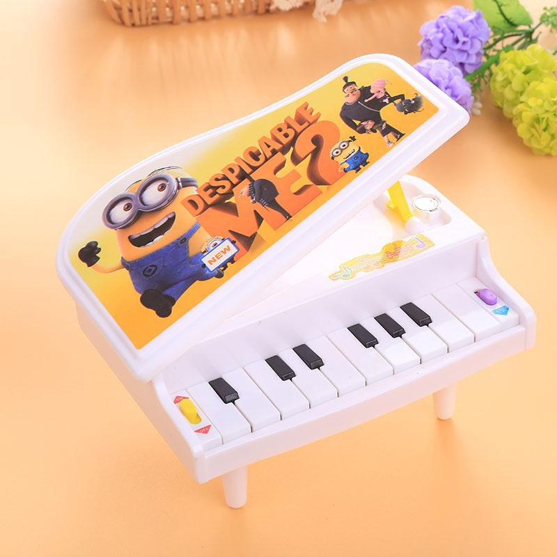 2017 Hot 1Pc High Quality Safe Kids Electronic Mini Piano Toy Keyboard Educational Music Art for Kids Children Birthday Gift Toy(China (Mainland))