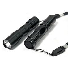 Mini LED 3W Waterproof Flashlight Torch Handy Light Hunting Keychain Lamp