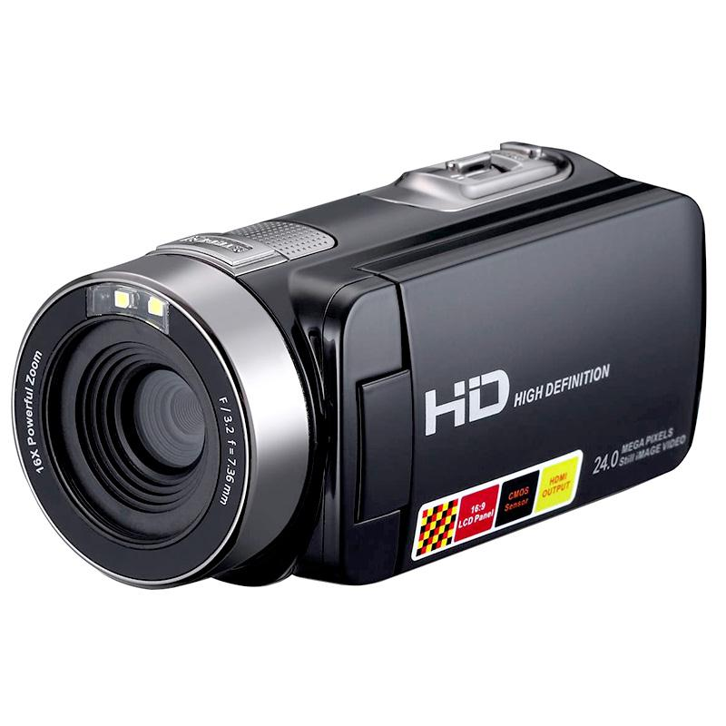 1080P 24MP Digital Camera Video Camcorder DV DVR 3.0'' Inch LCD 16x Zoom Cam(China (Mainland))