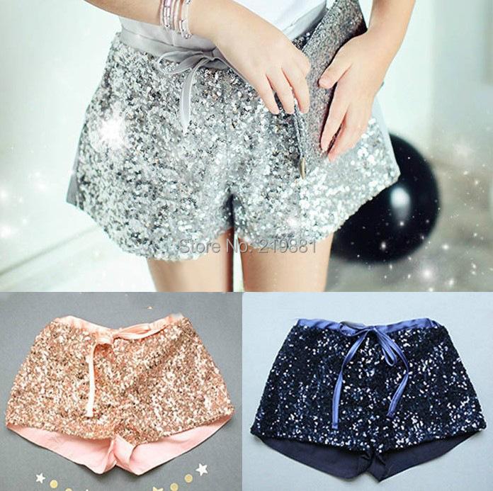 NEW ! 2015 Girls summer sequins shorts , girls shorts, short kids girl , 5pcs/lot  FJP59<br><br>Aliexpress