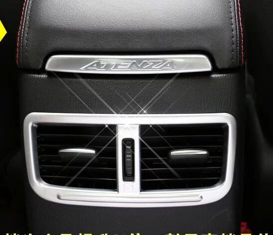 Auto inerior accessories,rear air vent intake trim sticker  for Mazda 6 atenza 2014 2015,Type B ,free shipping<br><br>Aliexpress
