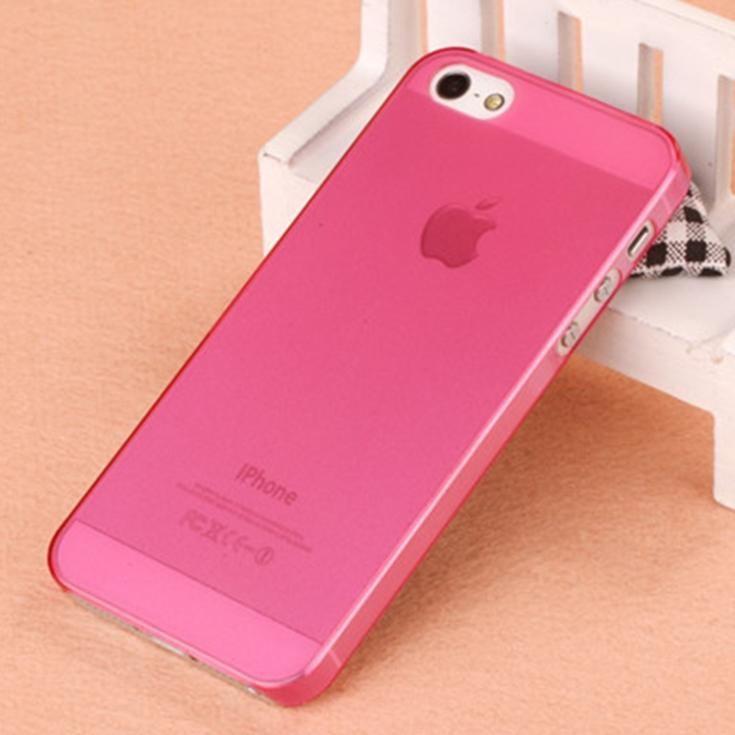 wholesale cute ultra thin slim mobile phone case for apple iphone 5s i phone5 ipone 5s matte crystal clear hard back cover(China (Mainland))