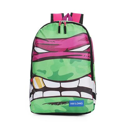 Teenage Mutant Ninja Turtles cartoon anime shoulder bag backpack schoolbag personalized creative bag action figures model kids(China (Mainland))