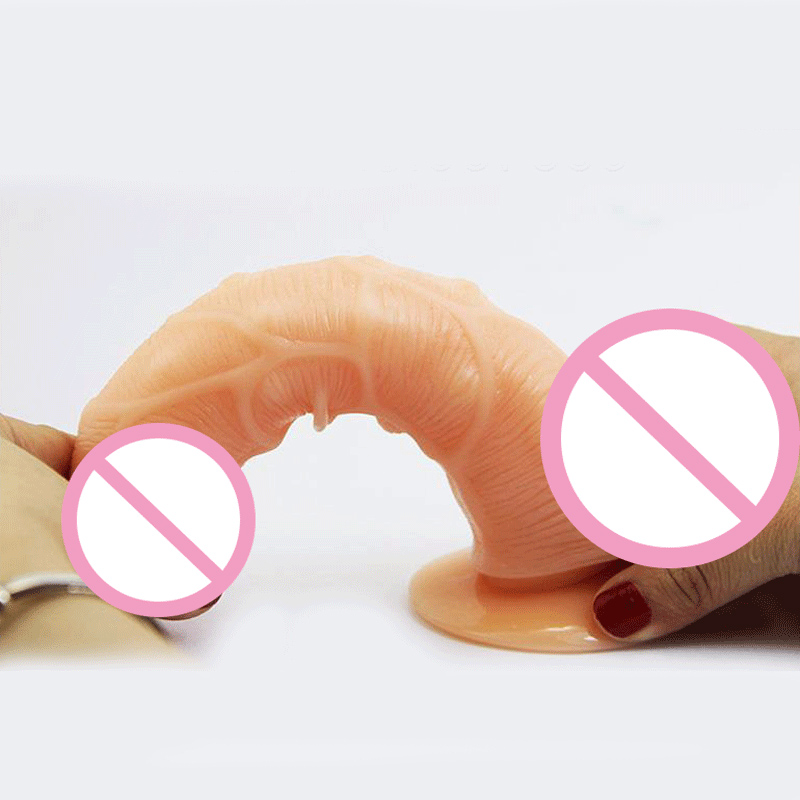 Realistic Big Dildo Silicone Flexible Penis Dick With Strong Suction Cup Huge Dildos Cock Adult Sex Products Sex Toys for Women(China (Mainland))